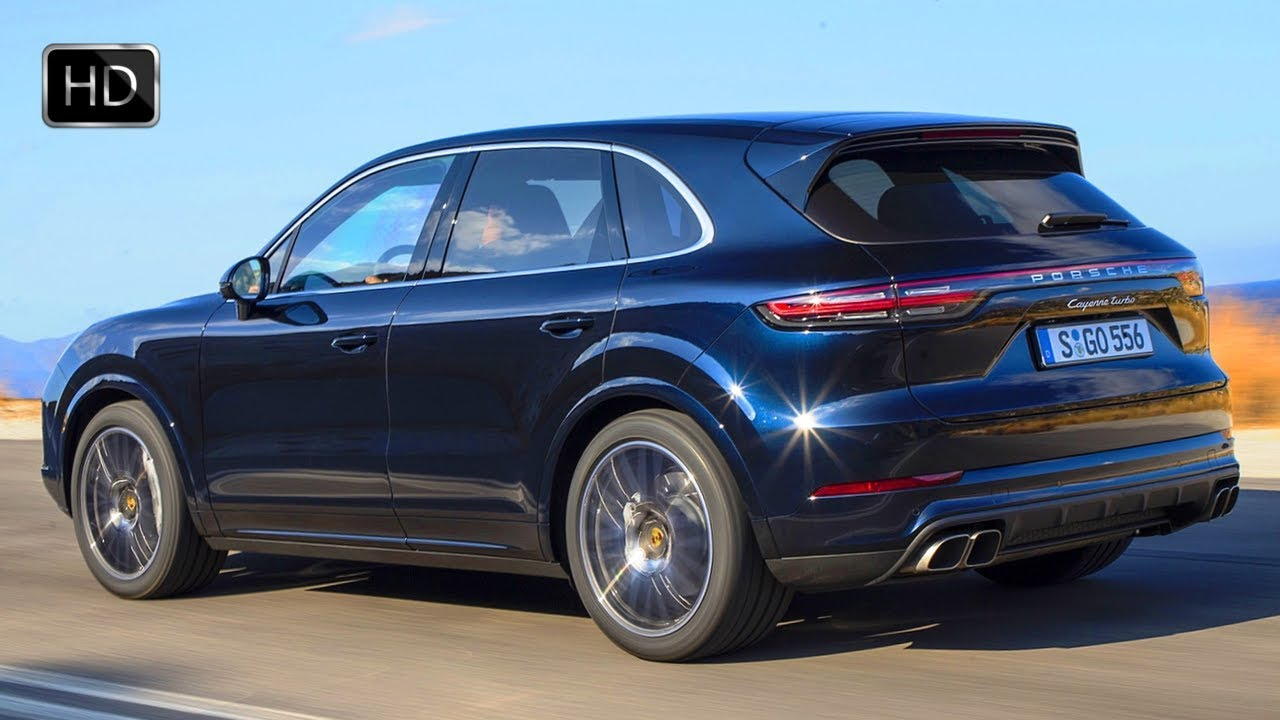 2019 Porsche Cayenne Turbo SUV Design Overview & OFF ROAD
