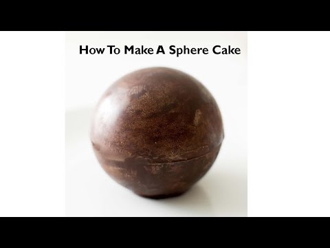 How To Make A Spherical / Sphere Cake