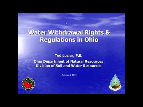 CE3 Webinar: Water and Fracking in Ohio (10/13)