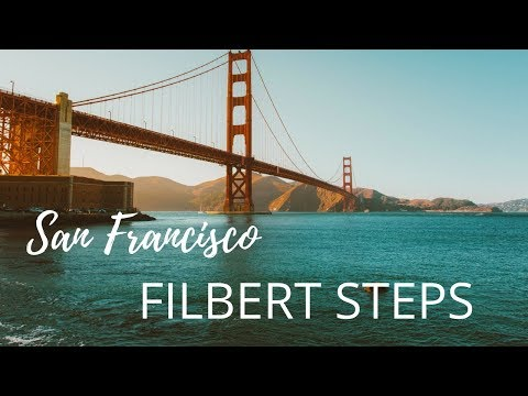 Things To Do In San Francisco - Filbert Steps (Hidden Gems)