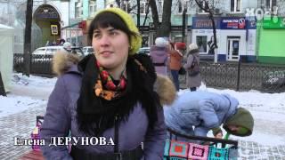В Кольцовском сквере появились шерстяные лавочки