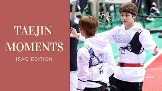 Taejin ISAC Moments (Piggyback & Hugs)  [ 태진 | 뷔진 ]