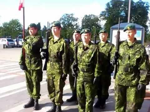HVK Ballerup (Hjemmeværnet) flagdag 5/9-2012