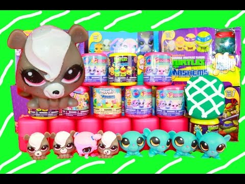 Fashems Play-Doh Surprise Eggs New Collection MLP LPS Mashems Huevos Sorpresa de Plastilina Pet Shop