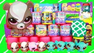 Fashems Play-Doh Surprise Eggs New Collection MLP LPS Mashems Huevos Sorpresa de Plastilina Pet Shop