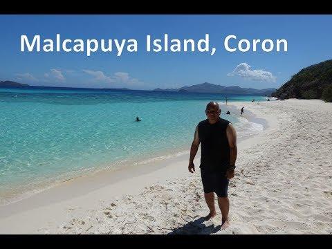 Malcapuya Island, Coron, Palawan (Philippines Travel Vlog #11)