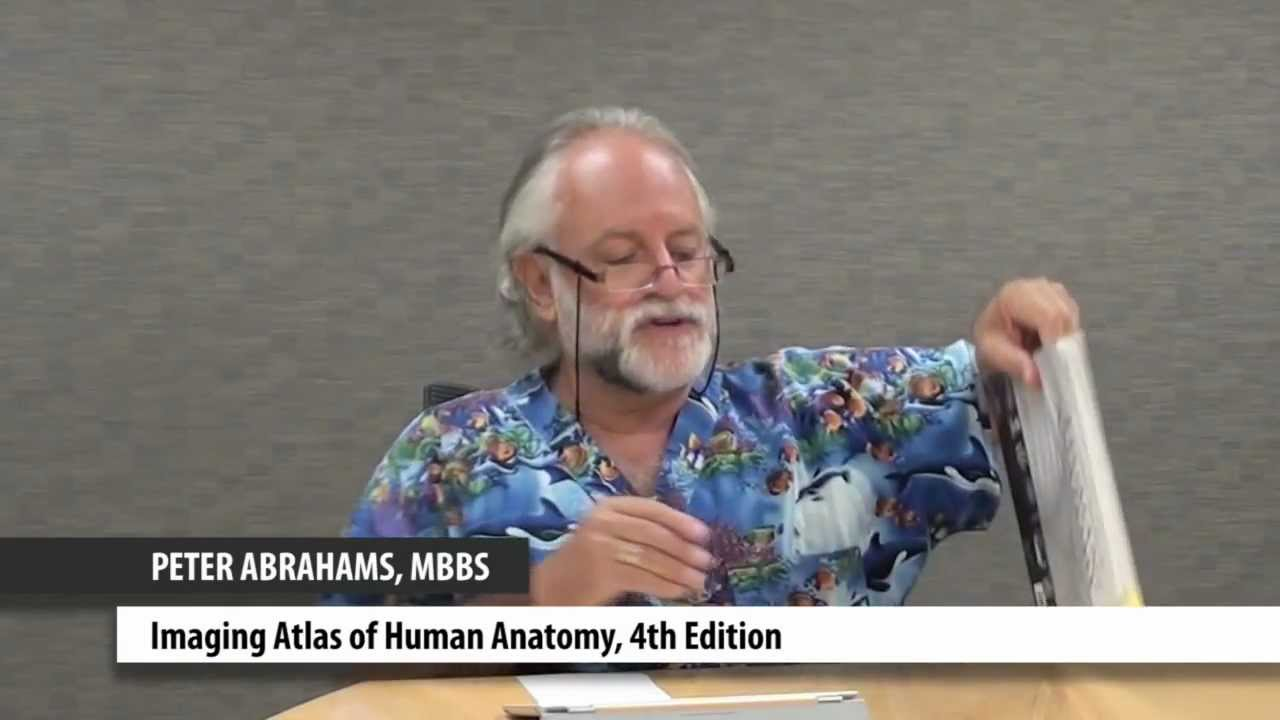 Professor Peter Abrahams Discusses His Book Imaging Atlas Of Human