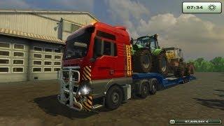 Farming simulator 2013 Trasporto eccezionale MAN TGX