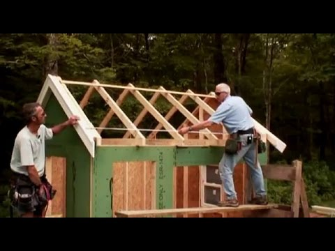 Building Gable Roof Trusses Youtube