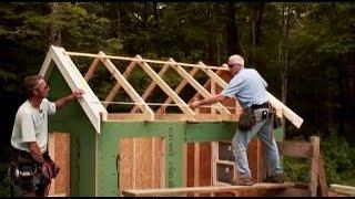 Building Gable Roof Trusses