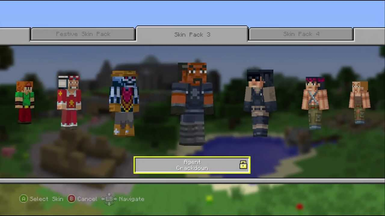Skin Pack 8 Minecraft Xbox 860 Edition
