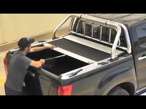 Ford Ranger Wildtrak >> Couvre tonneau Made in 4x4 - YouTube