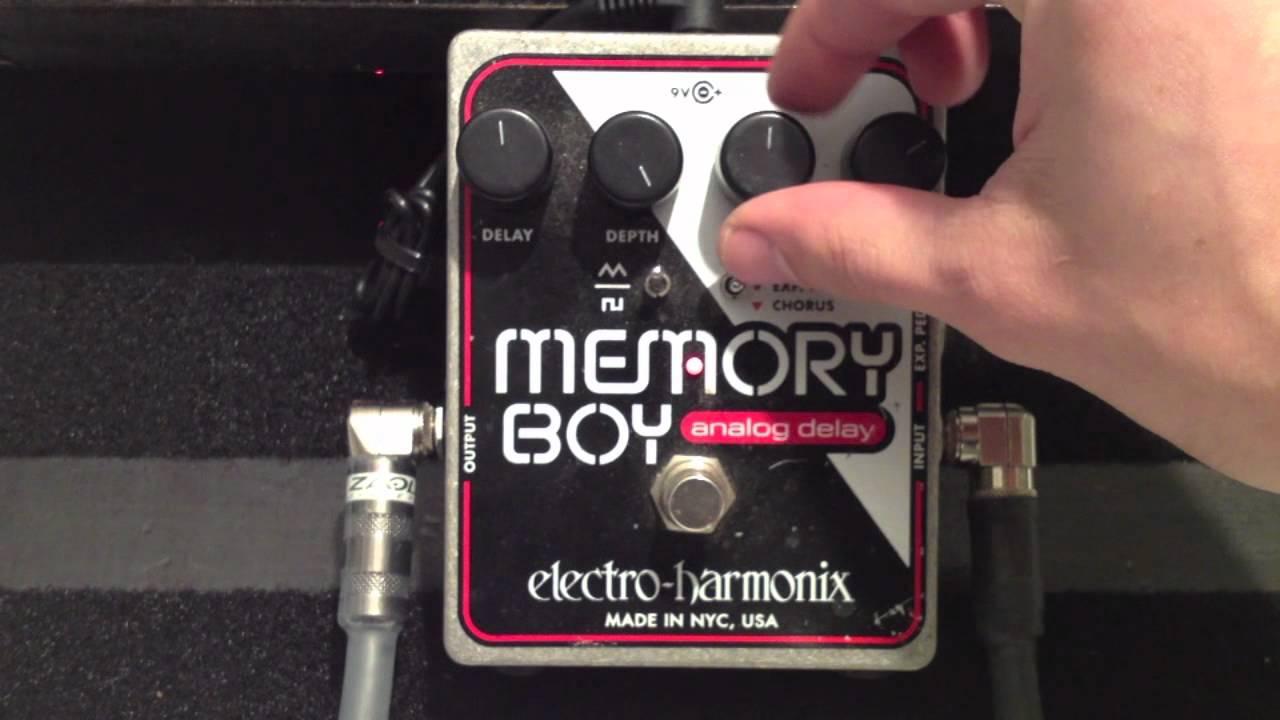 Electro Harmonix Memory Boy Demo Bassicsgear Youtube