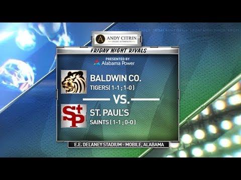 FRIDAY NIGHT RIVALS - Baldwin County Vs. St. Paul's (2019 Week 3)