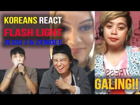[Reaction #46] Koreans reaction to Flashlight | Jessie J & Zendee