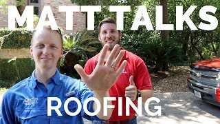 Roofer and Home Inspector Talk - The Houston Home Inspector