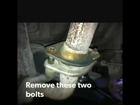 Catalytic converter cleaning Toyota Corolla