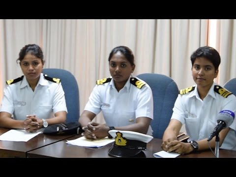 The all-women crew of INSV Mhadei tells of the first leg of their maiden voyage