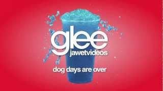 Glee Cast - Dog Days Are Over (karaoke version)