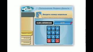 Пополнение счета через терминал. Яндекс.Деньги (4/9)