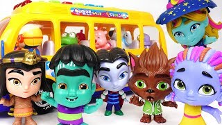 Help! Pororo bus is dangerous! Let's Go Super Monster's! change into a ghost! #PinkyPopTOY