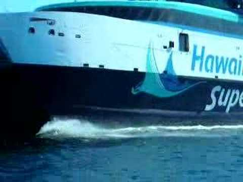 Hawaii Superferry Sea Trials