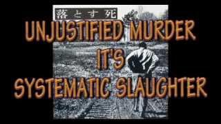 DROPDEAD - UNJUSTIFIED MURDER  - (Video lyrics)