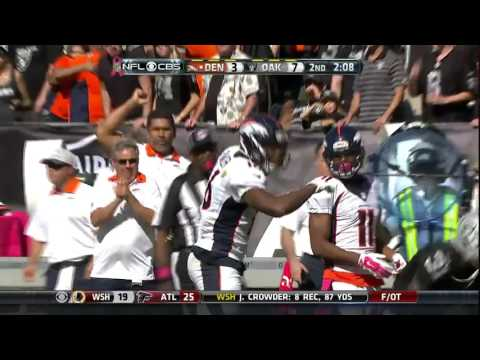 Peyton Manning to WR Ben Fowler for a Powerful 41-Yard Play | Broncos vs. Raiders | NFL