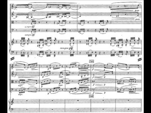 Harsanyi - Concertino for Piano and String Quartet (II-III)
