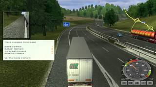 Euro Truck Simulator review on the PC.