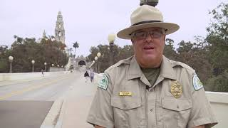 Ep: 1 Balboa Park Ranger Tour - Cabrillo Bridge