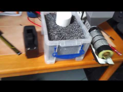 recycling ABS into usable 3D printing filament with Filastruder and a paper shredder...