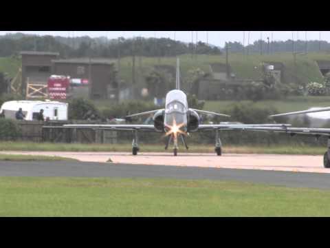 Waddington Airshow 2012 Departures With Radio Coms
