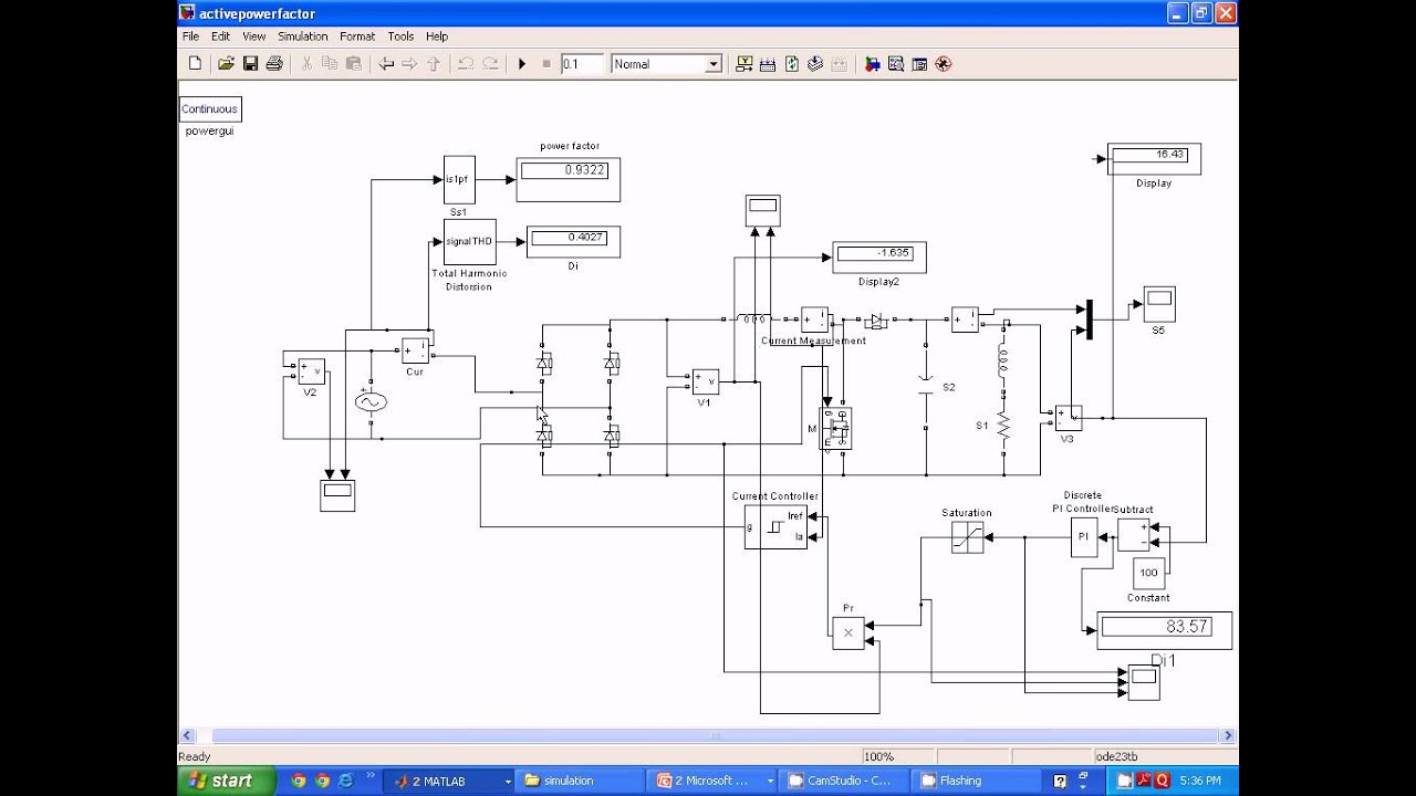 Active power factor correction pfc circuit with resistor free zero current detection  YouTube