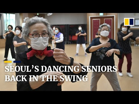 Seniors hit the dance floor again as South Korea lifts Covid-19 social-distancing rules