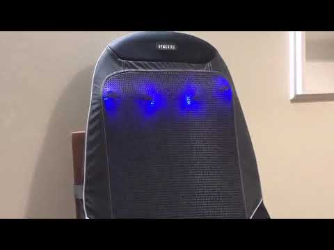 [REVIEW] HoMedics Shiatsu Max 2.0 Back and Shoulder Massager - Adjustable Massage Chair