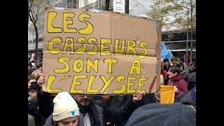 Grève massive en France