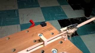 Making Arrow Shafts With The Veritas Dowel Maker