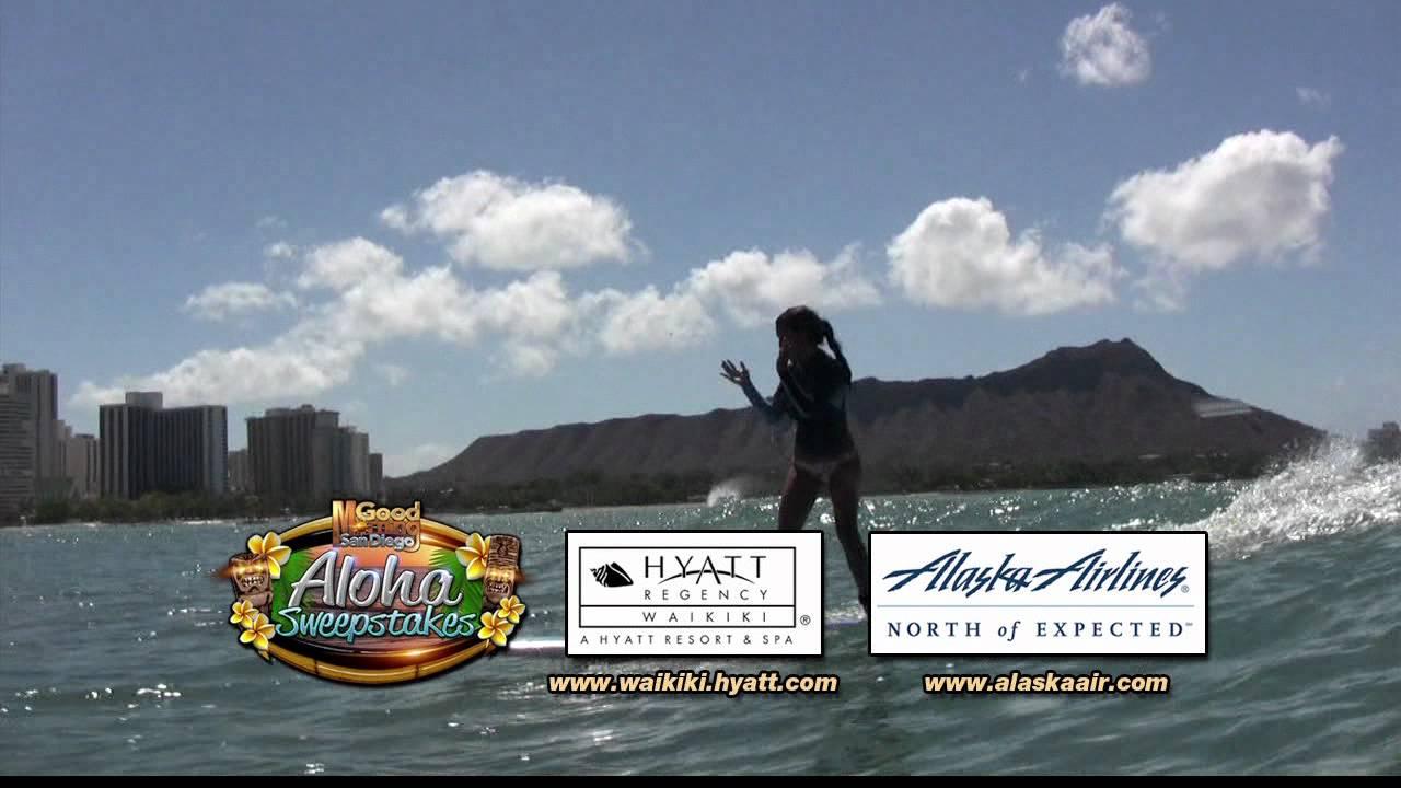 Aloha Sweepstakes First Winner