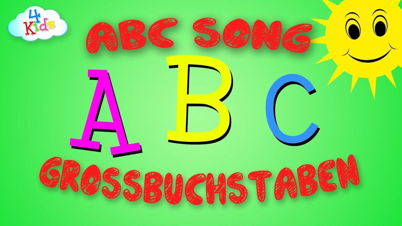 abc song f r kinder und kleinkinder kinderlieder zum mitsingen und lernen deutsch youtube. Black Bedroom Furniture Sets. Home Design Ideas