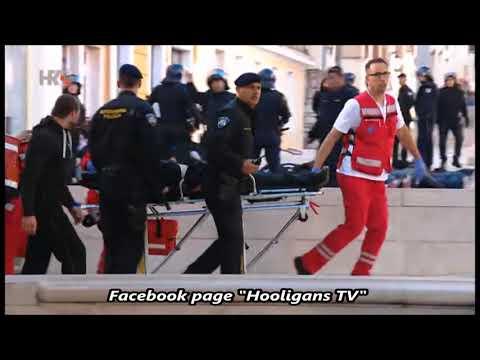 Fight before the match HNK Šibenik – Hajduk Split 25.10.2017 (part 2.)