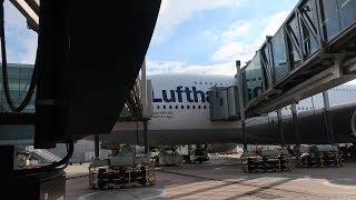 Lufthansa A380-800 First Class FRA-LAX, Round the World 4-6