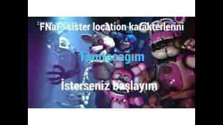 Fnaf sister location karalterleri