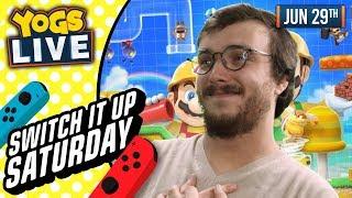 SWITCH IT UP SATURDAYS - Super Mario Maker 2 w/ Zylus & Mousie - 29/06/19