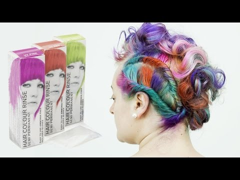 Stargazer Semi Permanent Pea Hair Colours Tutorial