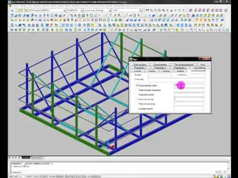 Estructura Metalica Soporte Carteles Autocad 3d Youtube