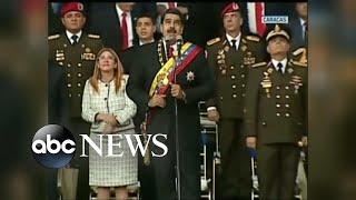 Venezuelan President targeted in apparent assassination attempt