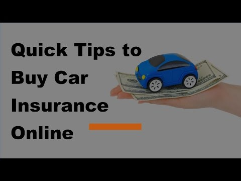 2017 Online Auto Insurance Guide  | Quick Tips to Buy Car Insurance Online