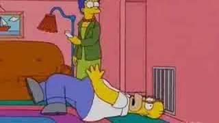 Homer woop woop!