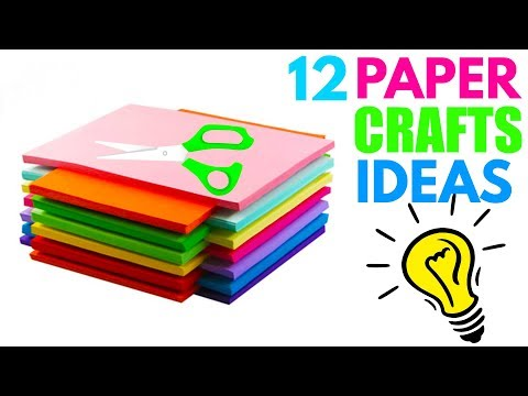 How To Make Paper Things DIY Paper Crafts For School!